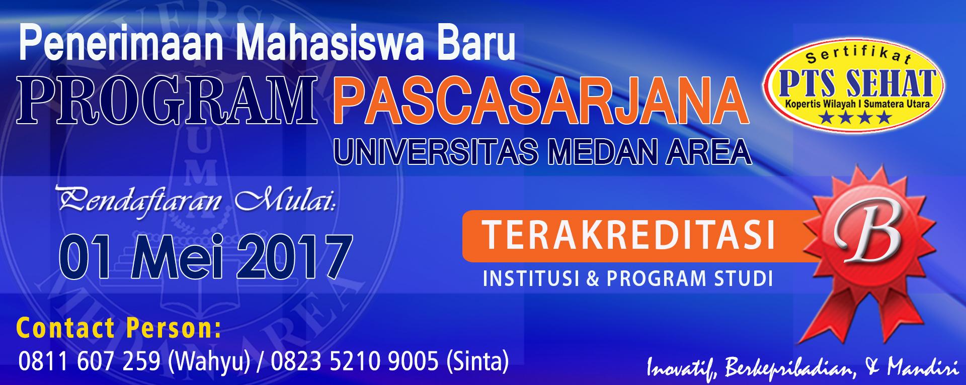 Penerimaan Mahasiswa Baru TA 2016/2017
