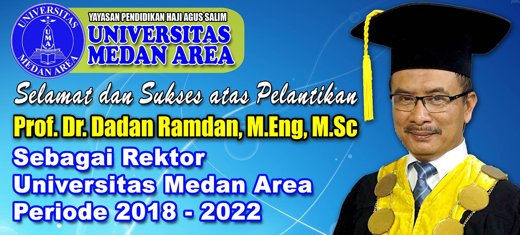 Rektor Universitas Medan Area 2018-2022